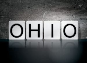 Graphic of Ohio Automated Reserving Written In White Tiles