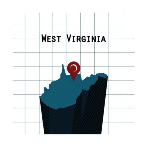 Map West Virginia Workers Compensation Heavily Impacted