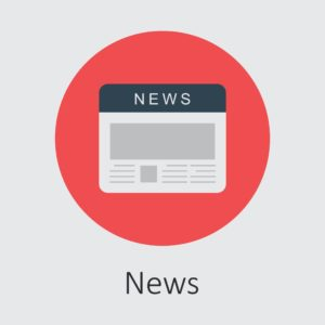 Vector of Workers Comp News News Icon