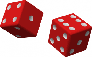 picture of workers comp policy error dice roll