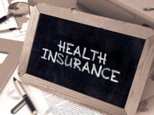 Hand Draw of Health Insurance Law of Large Numbers On Board