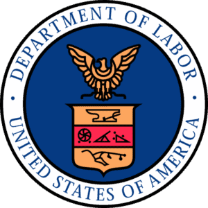 Department of Labor badge misclassifying employees as contract workers