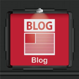 Vector Graphic Of Blog Screen Accidents Affect MOD For Blog Readers