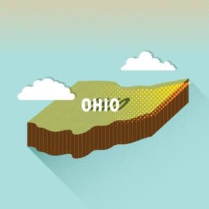 Map of Ohio BWC On The Sky Graphic