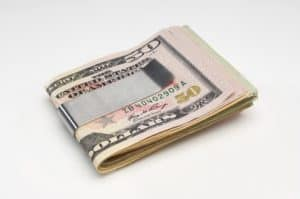 Picture Of Money Workers Comp Program In Money Clip