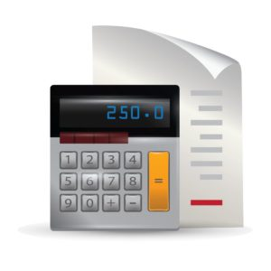 Vector Graphic of Bill Premium Statement And Calculator