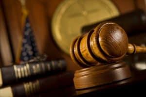 Gravel in US Appeals Court room