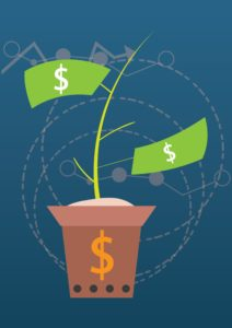 Graphic Of Money Plant Classification Code In Green Color