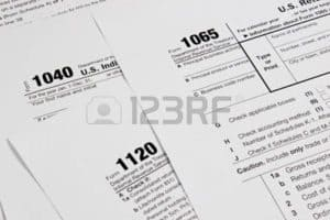 Picture of Independent Contractors Tax Form