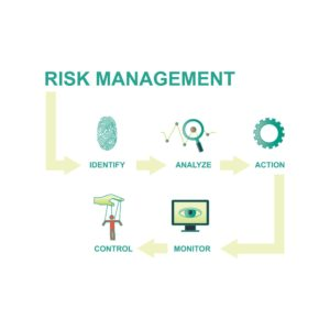 Graphic Of Risk Management Process Cycle