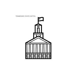 Graphic Of Tennessee Legislature State Of Capitol