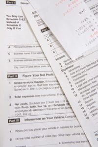 Tax Form Different View Image