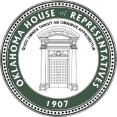 Logo of Oklahoma's CompSource House Of Representative