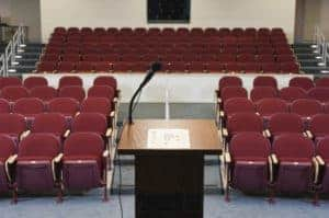 Picture of Empty Premium Auditor Conference Room