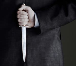 Picture Man Holding Knife Ways To Prepare Death Of Workers