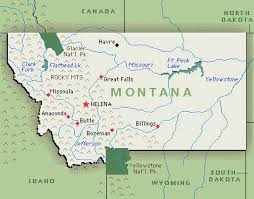 Map of Montana expensive state for Workers Comp