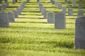 Picture of Cemetery Death of Workers Comp Headstones