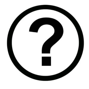 Icon round workers compensation bulletin question mark