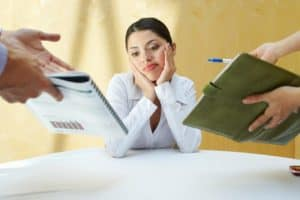 Businesswoman Caused Confusion Working With Colleagues