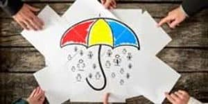Picture of Guaranteed Cost with Drawing of Umbrella