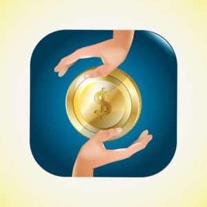 Graphic Of Hands Hybrid Premium Audits With Gold Coins
