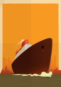 Graphic Of Jones Act Ship
