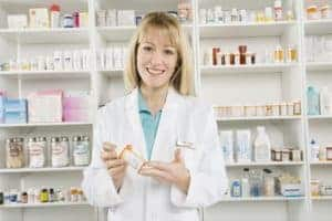 Picture Of Woman Pharmacy Benefit In Store