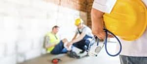 construction workers picture sliding scale dividend plans injured