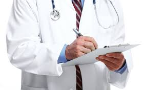 Picture of Doctor Doing Independent Medical Exam Of Patient