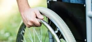 Picture of Man On Wheel chair Permanent Partial Disability Workers Comp Benefits