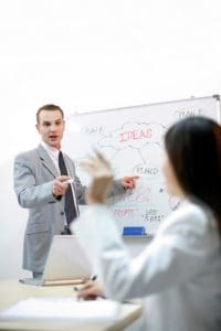 Picture Workers Comp Posts Brainstorming Session