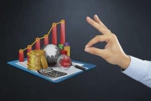 Hand Presenting Premium Auditors Strategy