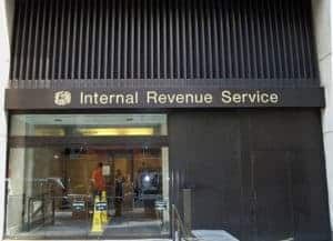 Picture Of IRS Subcontractor vs Employee Building