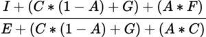 NCCI Experience Mod Ballast Value Formula