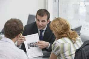 Picture Of Couples and Agents Errors and omissions discussing
