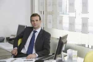 Picture Of Man Broker In Office