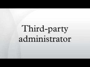 Graphic of third party administrato