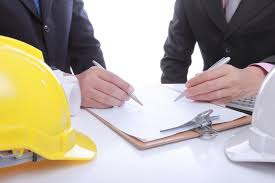 Picture of Two Contractor Doing Waiver Of Subrogation Agreement