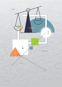 Vector Illustration of Acquisition Costs Law Elements