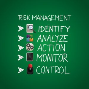 Graphic of Associate in Risk Management Illustration