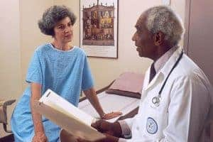 Picture Of Doctor And Patient Ambulatory Care Consulting