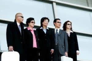 Picture Of PEOs Professional Employment Organization Standing In A Row
