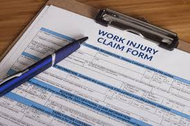 Picture of Workers Comp File Reserves Work Injury Claim Form