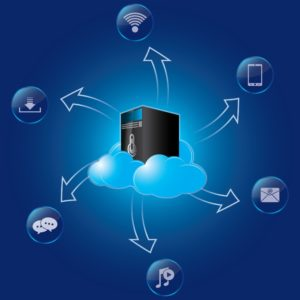 Graphics Of Central Processing Unit Captive Reserve With Software Icon