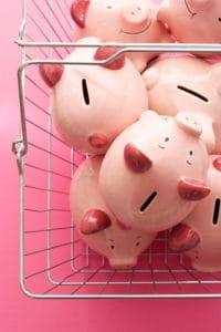 Shopping Cart Ethics Courses With PiggyBank