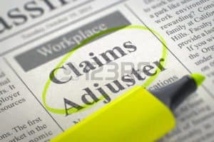 Picture of News Paper Public Adjuster Circle With Stabilo