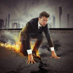 Picture of Employee flaming shoes Quick Methods Workers Comp Costs