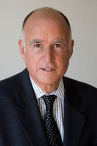 Image Of Governor Brown California Changes In Portrait