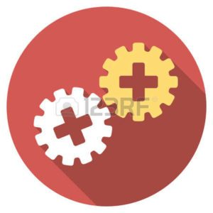 Graphic Of Gear workers comp Premium Reduction Desktop Items