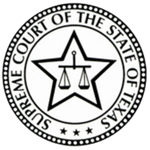 Graphic Of Texas Supreme Court Logo
